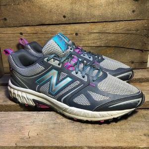 New Balance 412 v3 Gray Trail Running Shoes